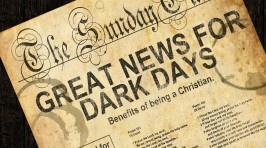 Pastor Mike Great News For Dark Days copy